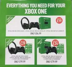 Complete Xbox One Pack - Different deals £79 @ Game