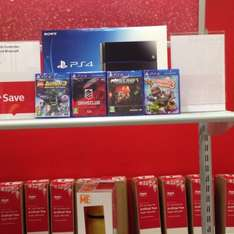 Ps4 with 4 games 500gb  £329.99 @ Argos