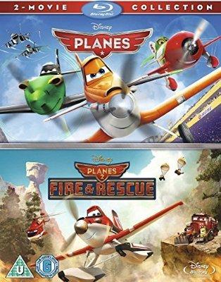 Disney Planes & Planes 2 Blu Ray Set £15 delivered at Amazon