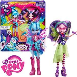 My Little Pony Rainbow Rocks Sonata Dusk & Aria Blaze £6.99 @ Home Bargains