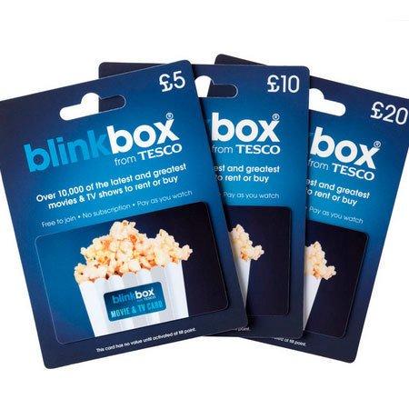 25% off BlinkBox gift cards instore @ Tesco