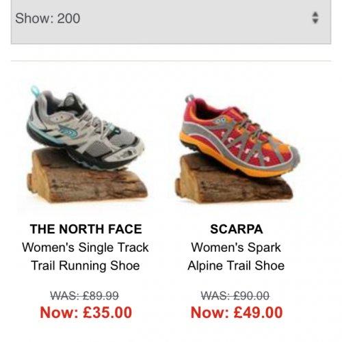 North face women's size 4 £35.00 @ Blacks