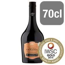 Tesco Finest Salted Caramel Liqueur down from £12 to £8