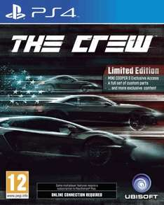 The Crew Limited/Standard Edition (PS4/Xbox One) £24.99 @ GAME Instore & Online
