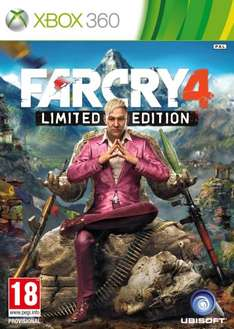 Far Cry 4 Xbox 360 / Ps3 - £23.99 @ Amazon!
