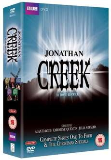 Jonathan Creek Complete DVD & Christmas Specials £12.99 delivered @ Amazon UK