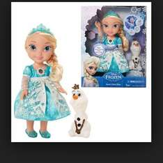 Snow glow elsa back in stock £34.99 @ the entertainer instore only