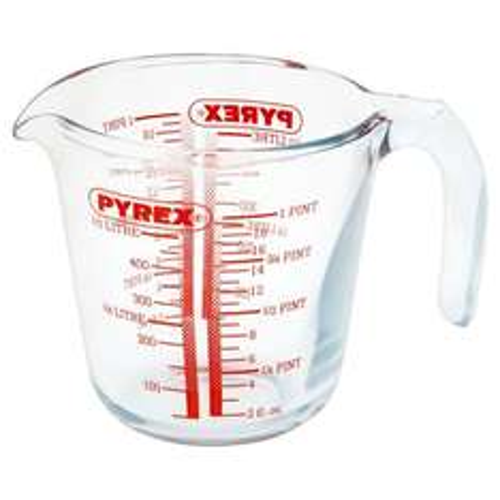 Pyrex Jug 0.5L £1.50 @ Wilkinsons
