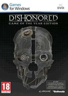 Dishonored GOTY (PC\Physical) £5.99 @ Game
