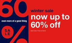 Extra 30% off everything inc sale 20th - 22nd dec at gap outlet