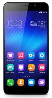 Honor 6 4G UK Smartphone (5 inch, Touchscreen, Octa-Core, 3GB RAM, 16GB ROM, 13MP rear camera, 5MP front camera, LTE CAT6, Android 4.4, EmotionUI 2.3) £244.96 at Amazon