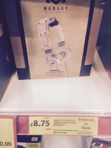 House Of Marley Soul Rebel Headphones TESCO  Reduced instore WAS £35 now £8.75