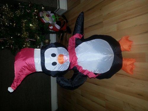 inflatable penguin - £3.75 instore @ ASDA