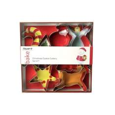 Swift Set of 7 Christmas Cookie Cutters with santa and reindeer @ amazon £5.16 (free delivery £10 spend/prime)