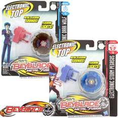 Beyblade Electronic Metal Fusion Tops @  Home bargains