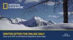 30% OFF all National Geographic Bags