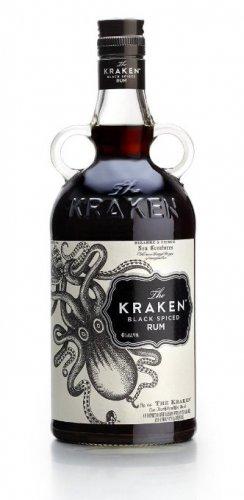 1 litre bottle of kraken £26.28 delivered @ amazon