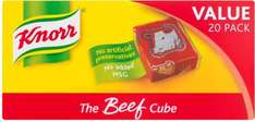 Knorr Stock Cubes Beef / Chicken / Vegetable (20 x 10g) £2.95 now £2.00 @ Tesco