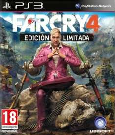 Far Cry 4 Limited Edition PS3 / XBOX 360 Currently £25 @ Tesco Direct also available with clubcard boost