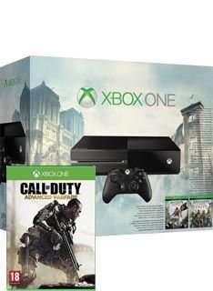 Xbox one with Assassins Creed games and COD Advanced warfare from Simplygames £319.99 delivered