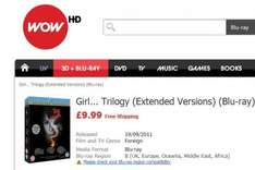 Girl... Trilogy (Extended Versions) (Blu-ray) £9.99 @ Wow HD