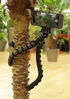 KitVision Large Monkee Grip Flexible Foam Tripod with Phone Holder. £11.99 @ Amazon (cheaper than the one without the phone holder)