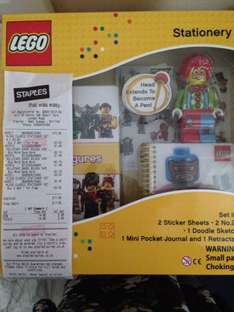 Lego classic stationary set @ staples only £3.90 also 3for2!!