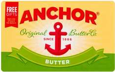 Anchor Butter Original or Unsalted (250g) was £1.75 now 2 for £2.50 @ Iceland & Tesco