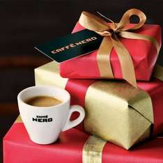 Up to £10 off Caffѐ Nero gift cards. @ O2 priority
