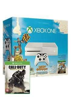 Xbox One in White with Sunset Overdrive and COD AW for £319.99 delivered from Simplygames