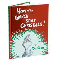 How the Grinch Stole Christmas, Dr Seuss - Special Hardback £7.46 (46% OFF) + Free Delivery @ bookdepository.com