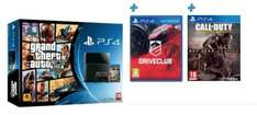PlayStation 4 with Grand Theft Auto V, Call of Duty: Advanced Warfare Day Zero Edition, The Last Of Us & Drive Club - £349.99 - Game