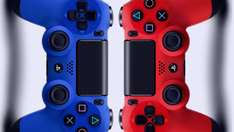 "RED or BLUE Sony PS4 Dualshock 4 Controller @ Play or Rakuten £39.99 with code ""GIFT40"" (Sold by expansys)"