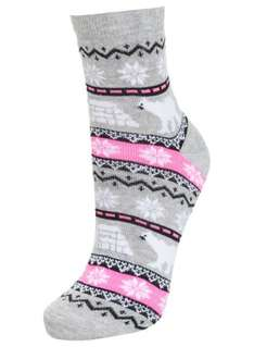 Christmas socks at Miss Selfridges - Two styles, NOw £1.00 per pair @ Miss Selfridge