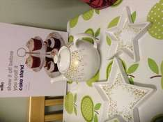 Gold spots table ware on offer, £2.00-£3.50 @ Wilko