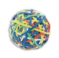 Rubber Band Ball of 200 Bands Natural Rubber Assorted £5.66 @ Amazon/Choice Stationery - the gift for the person who has everything - nearly!