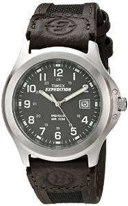Timex Expedition Men's Quartz Watch with Brown Leather Strap - £19.99 - Amazon