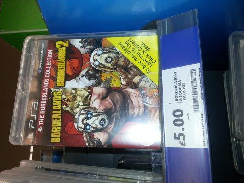 Borderlands 1&2 on PS3/xbox 360 - £5 @ Tesco Yeading