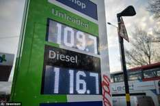 Harvest petrol station in Redditch, Worcestershire, is selling petrol for just £1.09 a litre