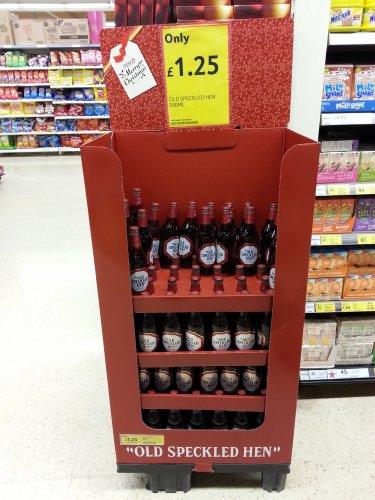 Old Speckled Hen bottles £1.25 @ Tesco