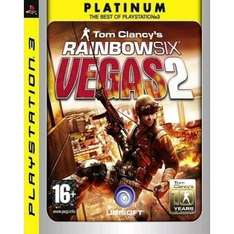 Tom Clancy's Rainbow Six: Vegas 2 Platinum edition (PS3) 98p delivered at Play.com/zoverstocks (used)