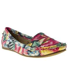 womens schuh multi cruise driving moccasin tropic flats @ schuh only £6.99 with free delivery or store pickup, also quidco  (originally £28.00)