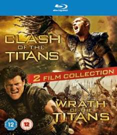Clash of the Titans / Wrath of the Titans Double Film Pack Blu Ray @ Game.co.uk + Quidco Cash Back