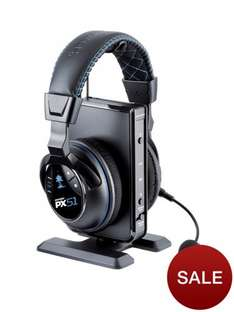 Turtle Beach Ear Force PX51 Premium Wireless Dolby Digital Gaming Headset For Xbox 360, PS3 And PS4 £159 @very