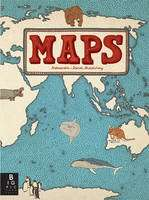 """Maps"" Hardcover Book by the Mizielinskis - £7.50 @ Amazon (Free delivery with prime/£10 spend)"