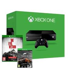 Xbox one with evil within + Forza download £299 delivered at Ebay / Shopto