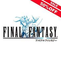 Final Fantasy 1-6 half price on Google Play
