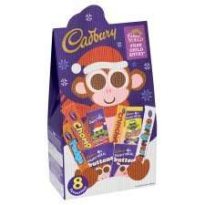 Cadbury Christmas Character Bag 162g 2 for £3 from Tesco