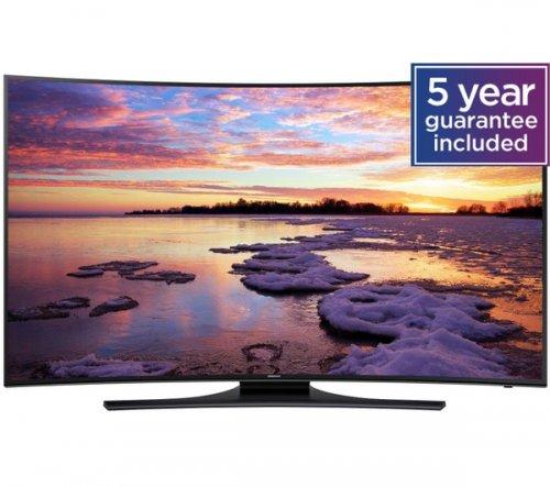 "SAMSUNG UE55HU7200 Smart 4k Ultra HD 55"" Curved LED TV + up to £200.00 cash reward @ Currys."