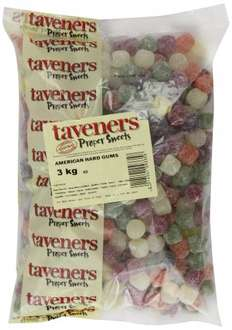 Taveners American Hard Gums 3 Kg only £5.64 (Add on item) @ amazon